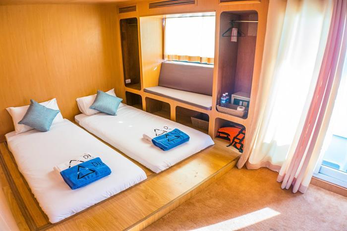 Twin/Double Luxury Cabin