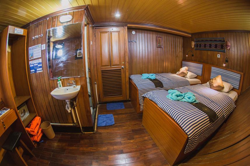 Twin Cabin - Lower Deck