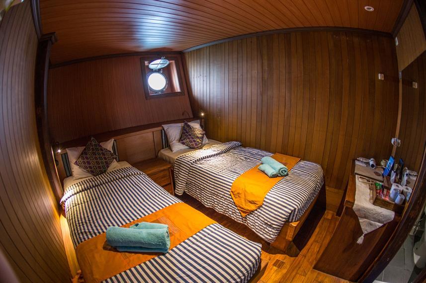 Twin Cabin Lower Deck