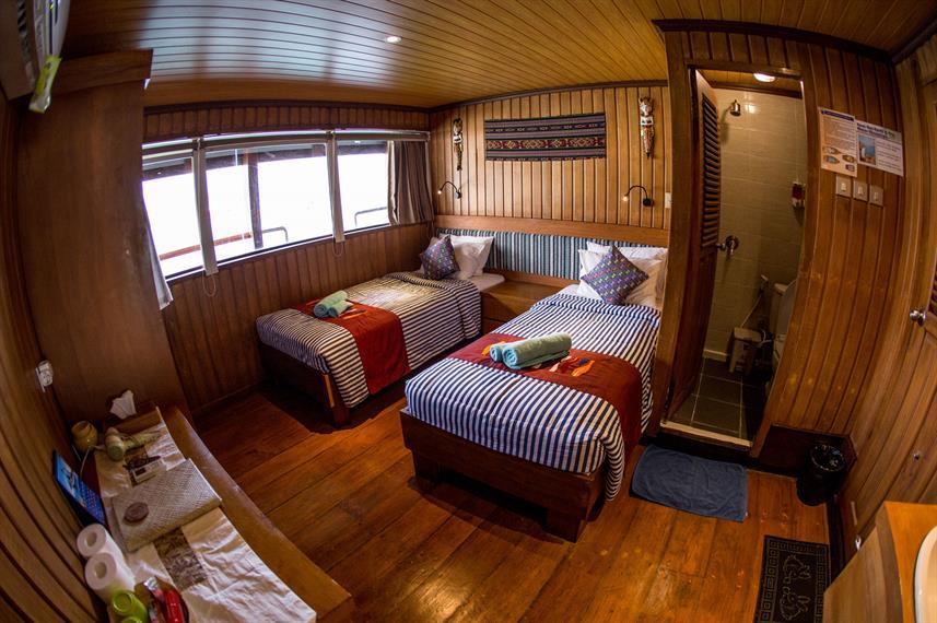 Twin Cabin Upper Deck