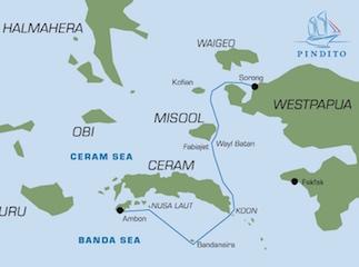 Banda Sea - Raja Ampat (Sorong-Ambon)