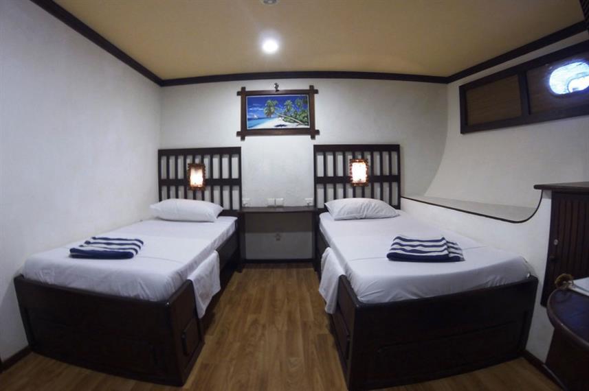Twin/Double Standard Cabin